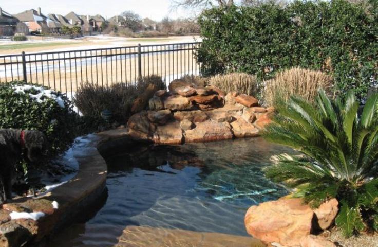 backyard spa homes pinterest