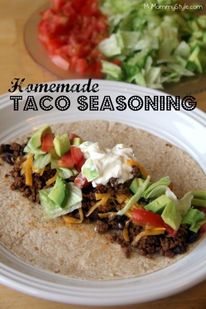Homemade Mild Taco Seasoning Recipes — Dishmaps