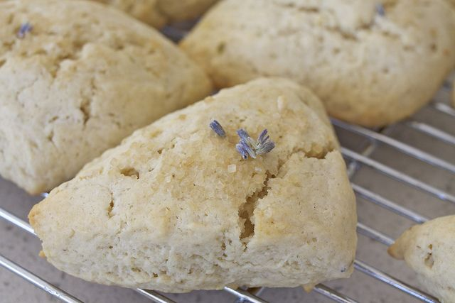 Sweet Lavender Scones- Perfect for Tea