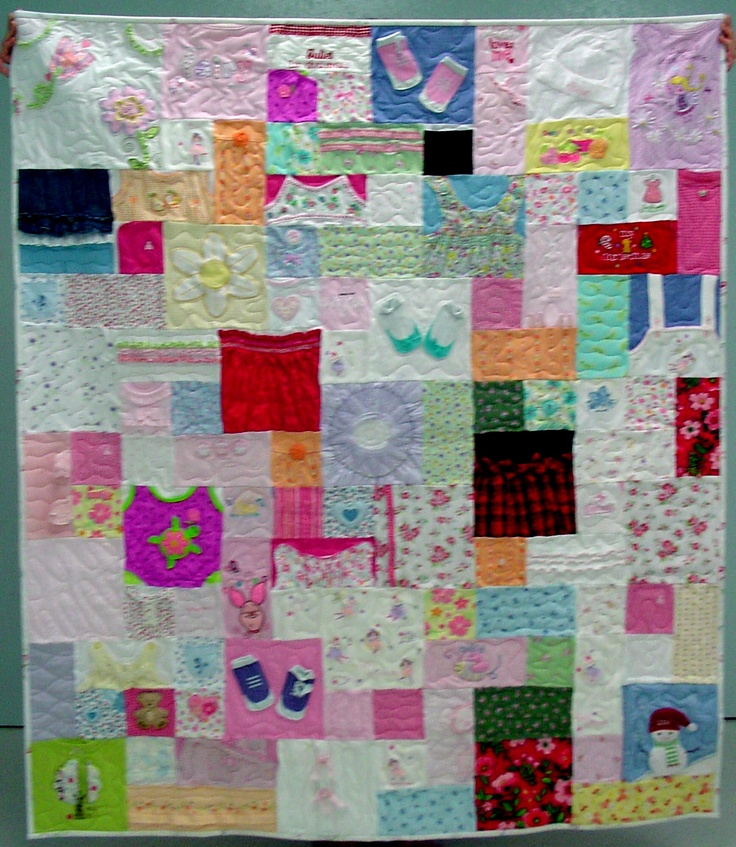 Baby Clothes Quilt Love Idea Cherish All Those
