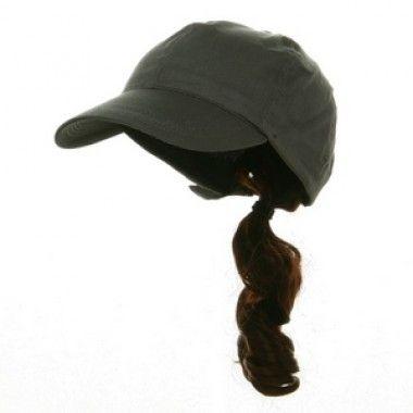 ponytail baseball cap costume hats we offer
