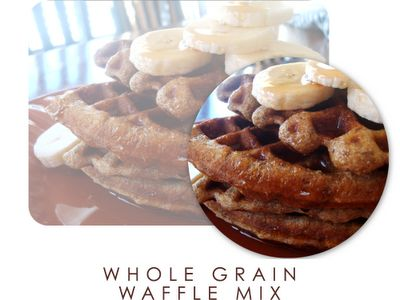whole grain waffle mix | food... I LOVE FOOD | Pinterest