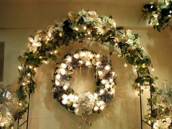 Christmas Tree Decorating With Garland : Christmas tree garland ideas decorating