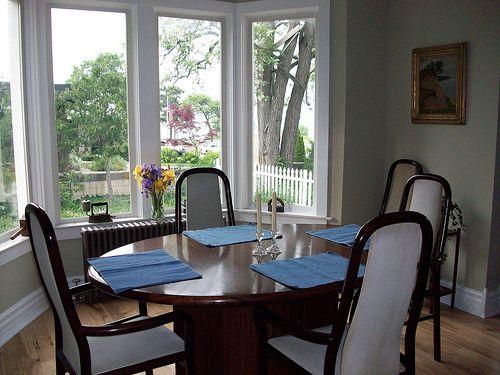 dining room bay window dining room pinterest