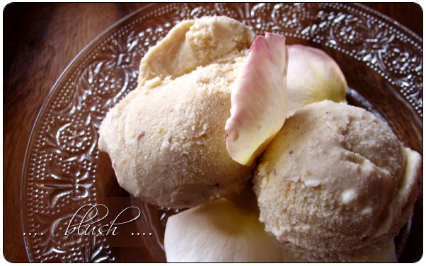 Rose Petal Ice Cream. Tried this in Mexico. It is absolutely divine ...