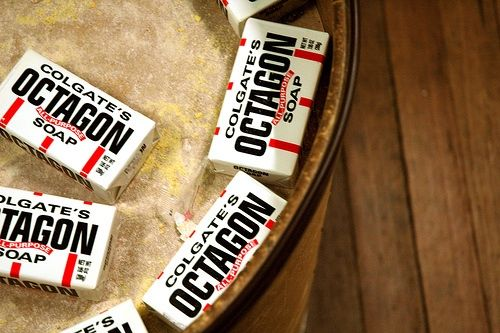Once a staple in dry goods stores of yesteryear, iconic Colgate's Octagon #Soap is still around and an economical choice for tackling an array of household tasks. #upcycle #diy