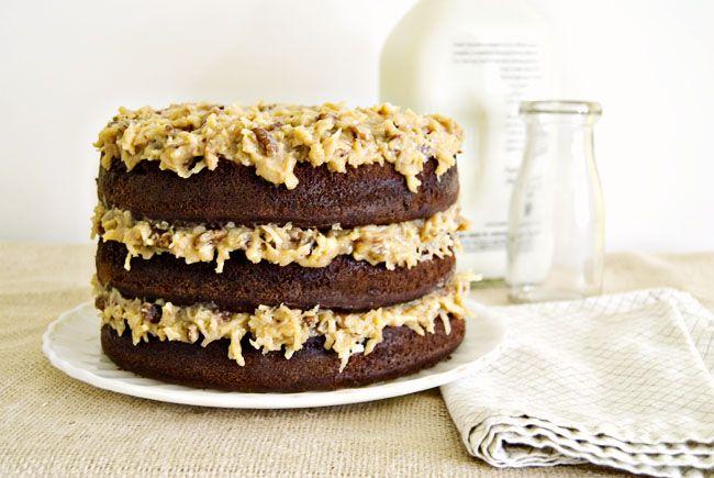 German Chocolate Cake Recipe. My favourite kind of chocolate cake.