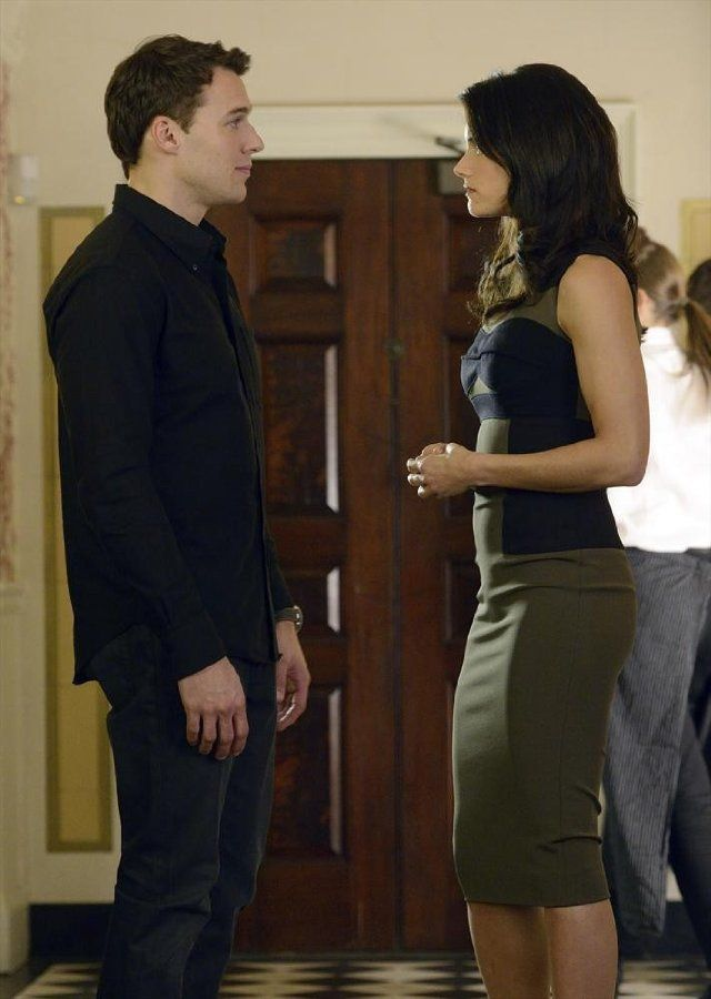 Still of Peter Mooney and Missy Peregrym in Rookie BlueMissy Peregrym And Peter Mooney