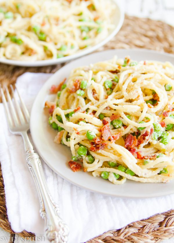 Spaghetti with Parmesan and Bacon | Pasta, casseroles misc. | Pintere ...