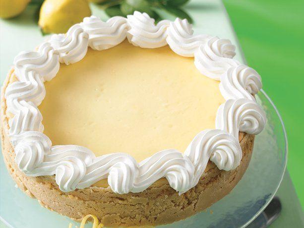 Lucious Lemon Cheesecake