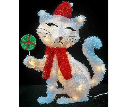 Pin by jessica sharp on christmas pinterest for Christmas cat yard decorations