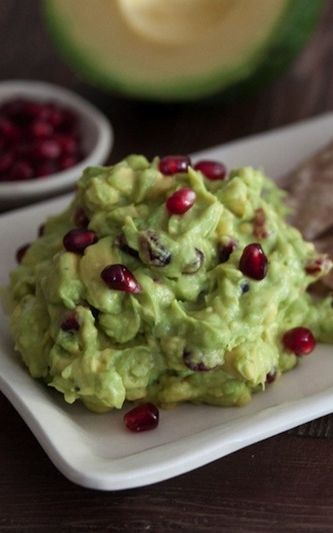 Christmas Guacamole! Must have at your party!
