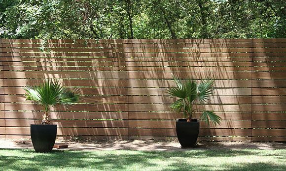 horizontal privacy fence outdoor structures and landscape pintere. Black Bedroom Furniture Sets. Home Design Ideas