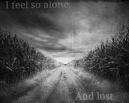 quotes feeling lost and alone quotesgram