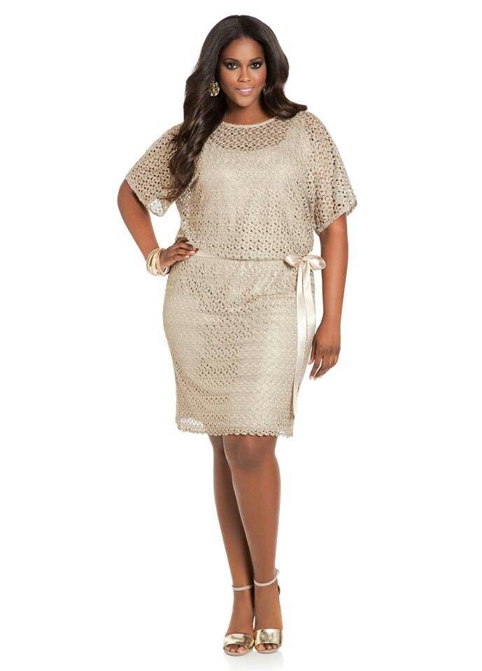 Ashley stewart i would wear that pinterest for Ashley stewart wedding dresses