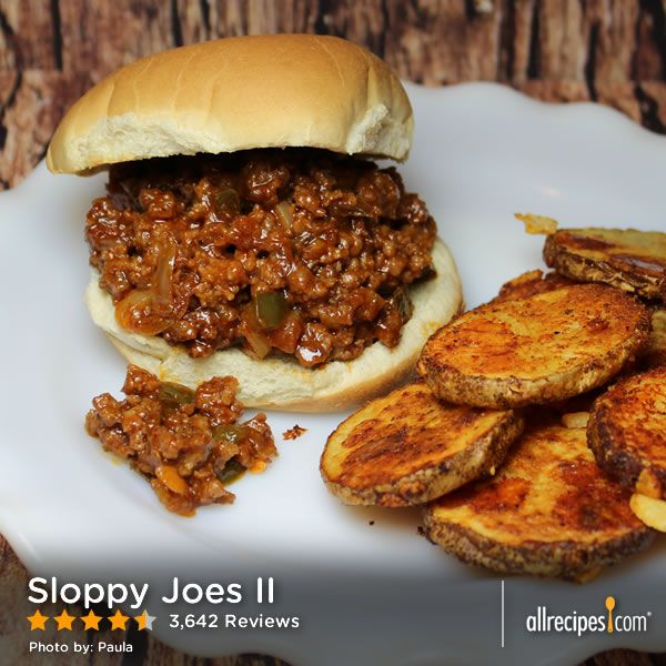 "Sloppy Joes II | ""Awesome recipe! I also substituted with the BBQ ..."