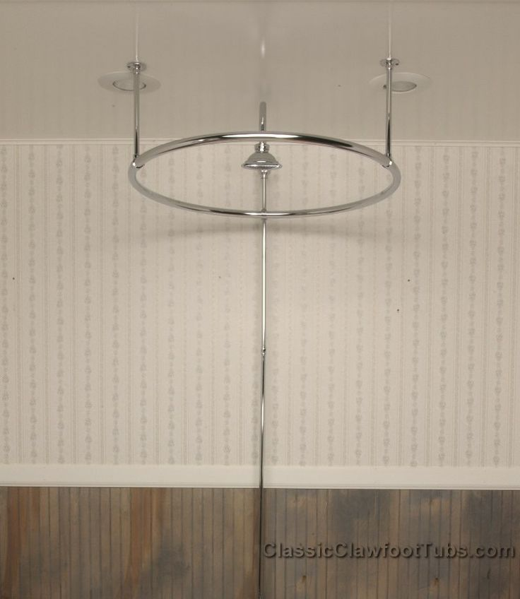 Clawfoot Tub Round Shower Enclosure Home Possible