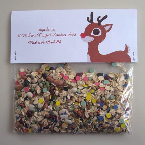 Free Printable: Reindeer Food Label « Speckless Blog
