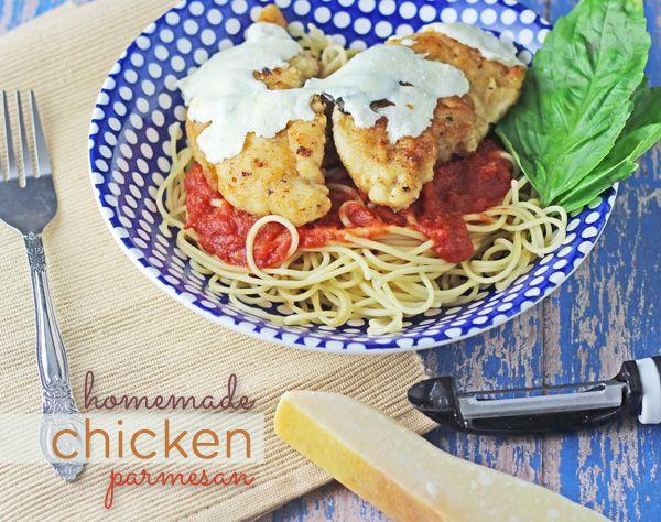 ... recipes!! Homemade chicken parmesan!! Love love LOVE this recipe