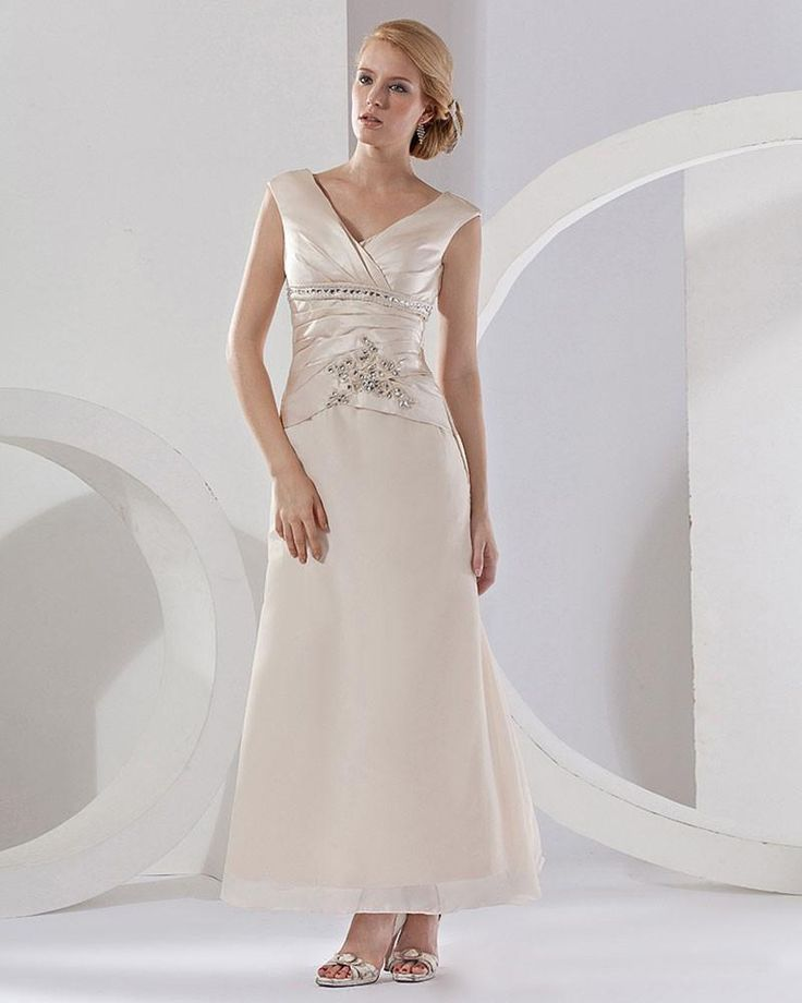 Style No.0mg00128,V-neck Floor Length Dress for mother of the bride,US ...