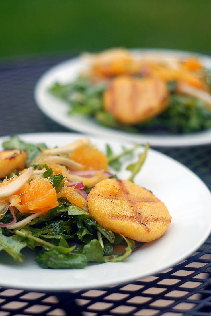 The Passionate Parsley: Polenta & Orange Salad With Fennel Salsa (GF)