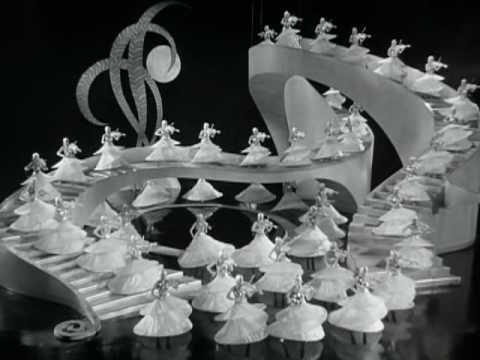 Gold Diggers of 1933 - Shadow Waltz.  The magic, artisty and unique vision of Busby Berkeley.