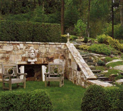 Robert Couturier's garden in CT