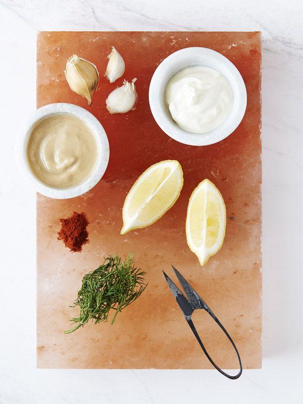 | Energising: Grain Free Salmon Burgers with Lemon Tahini Dressing ...