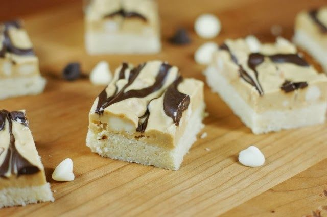 my playground marbled peanut butter amp chocolate shortbread bars amp ...