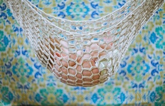 Crochet Pattern For Baby Hammock : Crochet Hammock Newborn Photo Prop