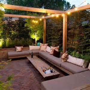 garden sitting area outdoor oasis pinterest