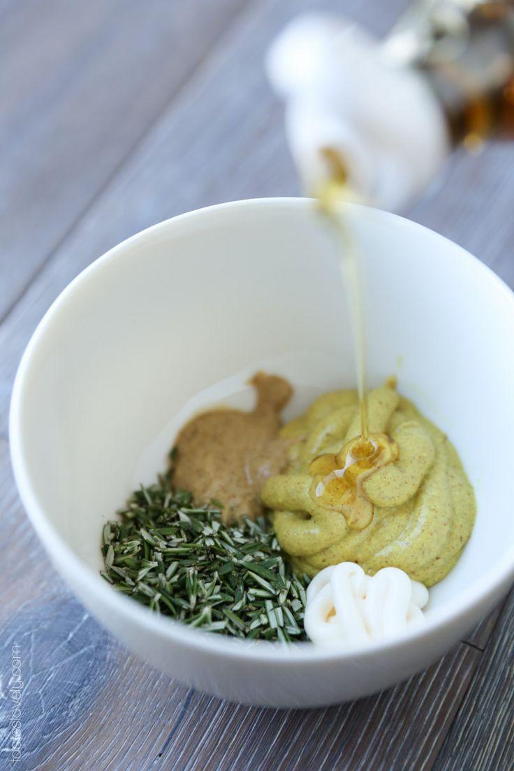 Rosemary Mustard Sauce for Skillet Chicken
