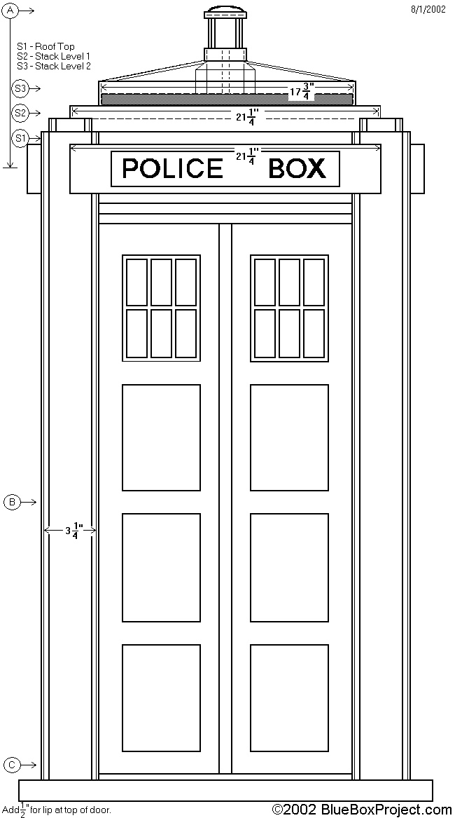 How To Draw A Tardis Tardis Coloring Page