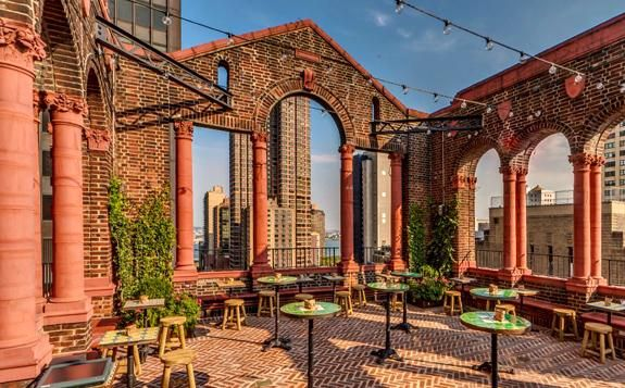 The Rooftop Lounge At Pod 39 Nyc Hotels Restaurants