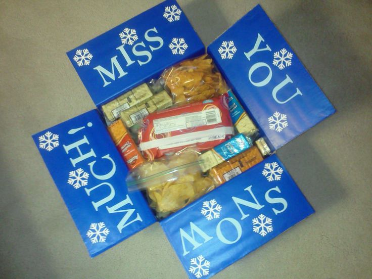 JOY and Passion in the Journey: Winter Military Care Package