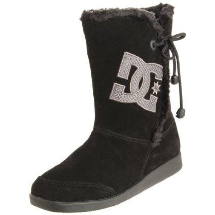 DC Women`s Gondola Mid Action Sports Shoe,Black/Silver,9 M US $48.96