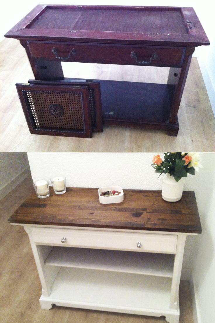 Reciclando muebles viejos diy proyectos pinterest - Muebles reciclados vintage ...