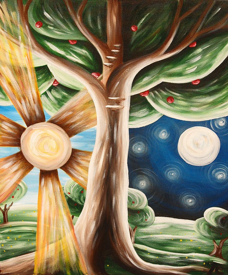 Original painting good and evil good vs evil pinterest for How to make a good painting
