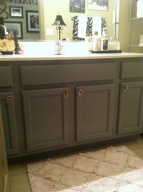 Take an outdated vanity in the bath laundry room or even for Bleached wood kitchen cabinets