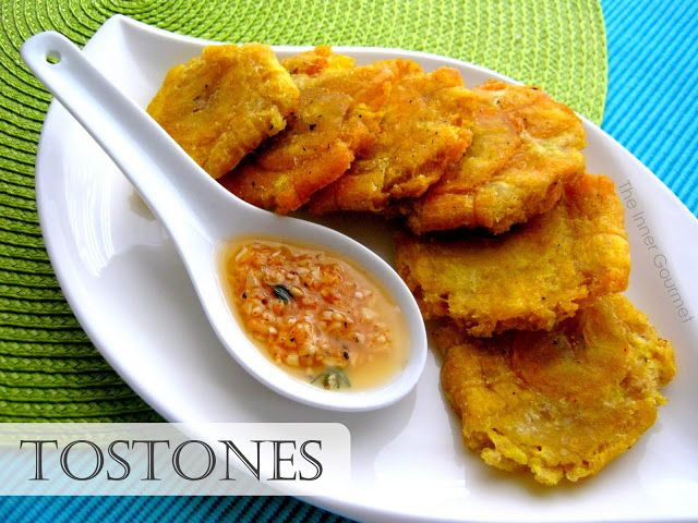 The Inner Gourmet: Tostones with a Garlic Dipping Sauce | Appetizers ...