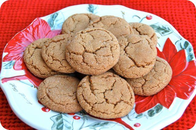 Ginger Molasses Cookies | COOKIES, Brownies & Bars | Pinterest