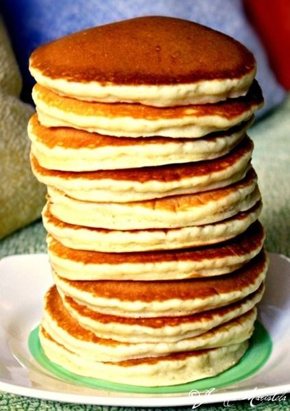 light and fluffy cakey pancakes | Food | Pinterest