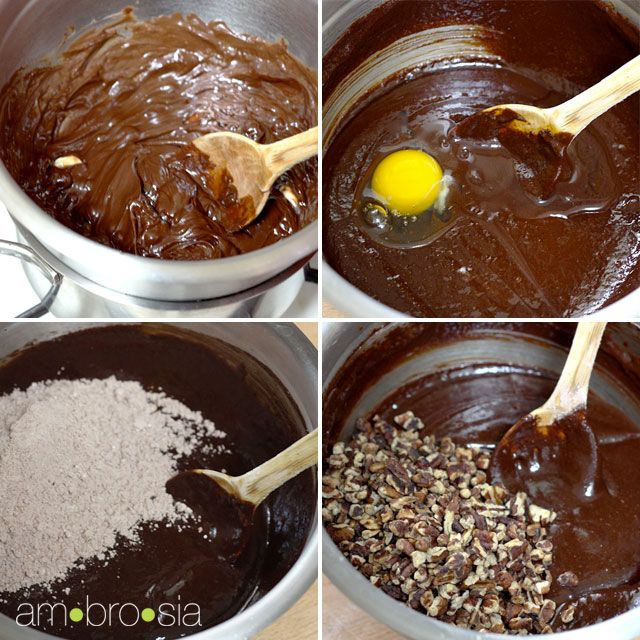 ambrosia: Gluten-Free Pecan Fudge Brownies