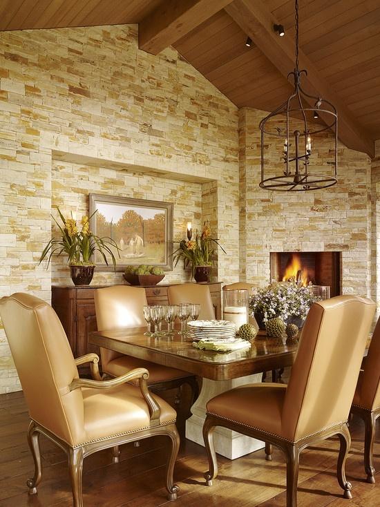 Mediterranean Restaurants Design : Mediterranean Dining Room Design  - Dining Rooms -  Pinterest