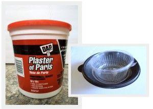 Mix plaster of paris crafts pinterest