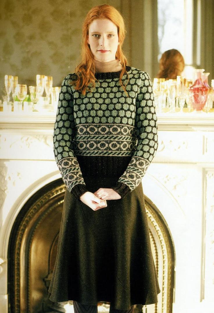 British Crochet Magazines : Rowan Classic (British knitting/crochet magazine) - Heartland (29)