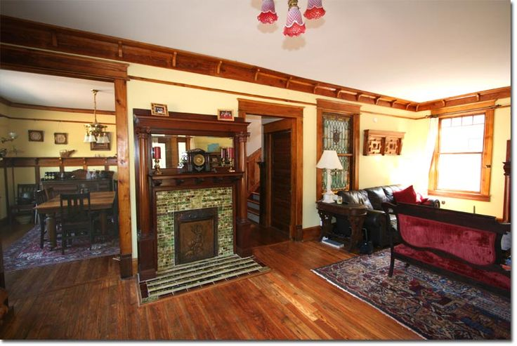 Craftsman Bungalow Atlanta Living Room Home Inspirations