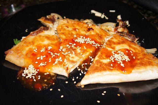 Jacki and John Ate This: Sweet Chili Chicken Quesadillas