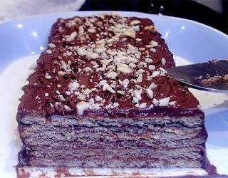 Recetas de Doña Martha: TORTA MARQUESA DE CHOCOLATE
