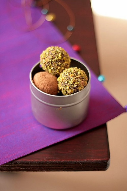 Lavender And Espresso Truffles | chocolates and candies | Pinterest